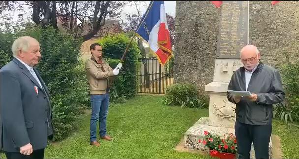 Crannes-en-Champagne, cérémonie du 8 mai